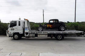hotrod towed
