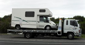 campervan towing