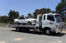 Torana towed
