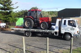 tractor removal