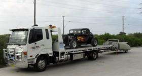 Hotrod towed